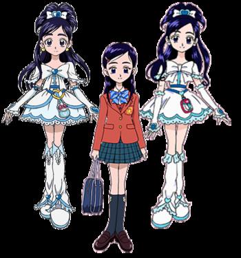Honoka y Cure White.png