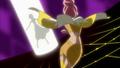 Sasorina tomando la Flor Corazón de Nanami
