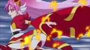 Towa luego de transformarse en Scarlet