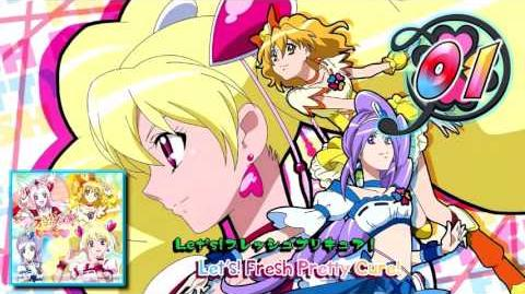 Fresh Pretty Cure! Vocal BEST!! Track01