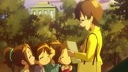 Miyo es feliz gracias a los niños