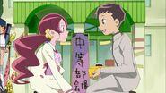 Tsubomi se encuentra con Sugiyima