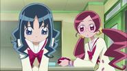 Erika preocupada por Azusa