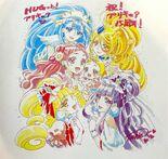 HUGtto! Pretty Cure 15th Anniversary visual