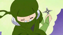 Shirogane-san as a ninja in the Cures imagination