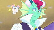 Blue Cat disfrazada de Doragun