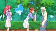 12.Haruka preguntandole a Nishikido si ha visto a Kanata