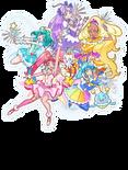 Toei website header with Unicorn Fuwa
