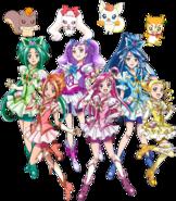 Yes! Pretty Cure 5 GoGo Perfil Haru