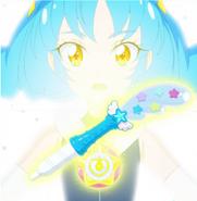 Yuni apunto de transformarse por primera vez