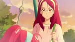 STPC18 Terumi looks down at her upset daughter
