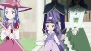 Liz dejando su hogar para ir a la escuela magica