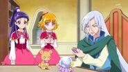 03. Mirai y Riko escuchando la charla de Kochou
