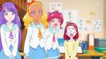 STPC18 Hikaru and Terumi aren't happy with what Yumeo said while Madoka and Elena wonder who Yumeo is