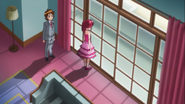Seiji y Megumi hablando