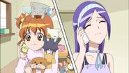 Inori ocupada llamada