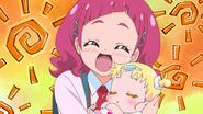 Hana dice que se veria mejor si ella fuera la unica Pretty Cure