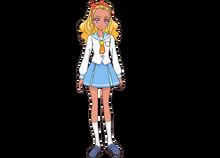 Elena Uniform Profile Toei
