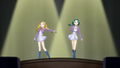 Urara and Komachi acting together