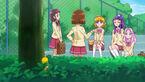 Chikurun spies on the girls