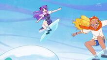 STPC24 Madoka and Elena are snow boarding