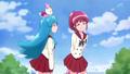 Megumi diciendo su frase gancho