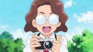 Michio distraído por la hazaña de Chiyu