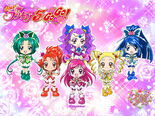 Official Chibi Art Of Yes! Pretty Cure 5 GoGo!