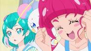 STPC3.06-Hikaru está lista para usar el colgante y encontrar a la Princesa Estrella