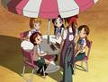 Akane explica historia señorita ruriko