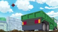 Batty mirando la furgonets