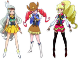 International Pretty Cures in Happiness Charge Pretty Cure!