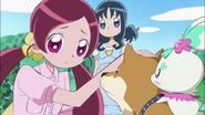 Tsubomi preocupada por Aki