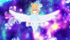 Mofurun with the mini Pegagus towards the cures