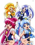 Official Happiness Charge Pretty Cure Art