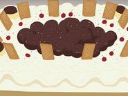 Tarta hikari cumpleaños honoka