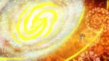 Circle transformed into a galaxy