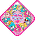 Pretty Cure Miracle Leap Sticker