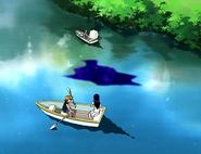 Zakenna corrompiendo estanque