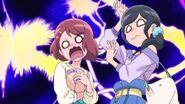 Nodoka y Chiyu en shock