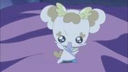 Potpourri le dice a Tsubomi que Itsuki es la tercera Pretty Cure