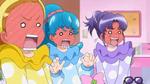 The girls blush