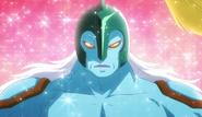 Gamettsu siendo purificado por el Rubi Apasionado Pretty Cure
