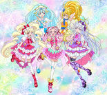 HUGtto! Pretty Cure Lunch and Dinner show poster