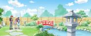HuPC03.8-Las Cures, Harry y Hugtan llegan al jardin japones