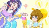 Viva! Spark! Sango drops her ice cream onto Minori's