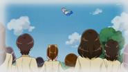 Recuerdo de cuando Ha-chan se transformo en sirena