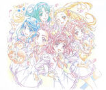 Yes! Pretty Cure 5 GoGo! Illustration from Pretty Cure Works