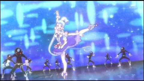 Happiness Charge Precure Cure Princess Sherbet Ballet - Arabesque Shower