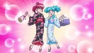 Megumi y Hime con yukata